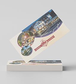 Hotel Zur Post Altenahr Visitenkarten