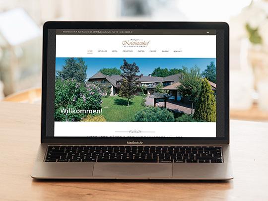 Kristinenhof Webseite