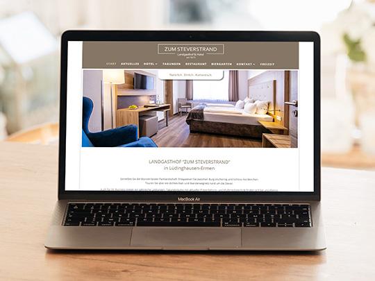 Zum Steverstrand Webseite